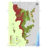 Land use classification of Kuiburi national park