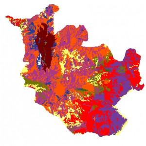 Land use classification of Doi inthanon national park